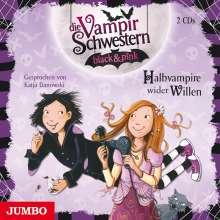 Nadja Fendrich: Die Vampirschwestern black & pink. Halbvampire wider Willen, 2 CDs