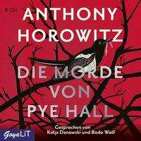 Anthony Horowitz: Die Morde von Pye Hall, 8 CDs
