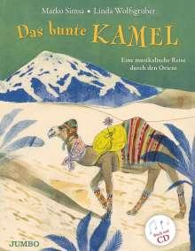 Marko Simsa: Das bunte Kamel, Buch