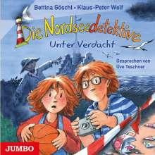 Klaus-Peter Wolf: Die Nordseedetektive (6) Unter Verdacht, CD
