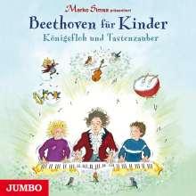 Marko Simsa: Marko Simsa präsentiert: Beethoven für Kinder. Königsfloh und Tastenzauber, CD