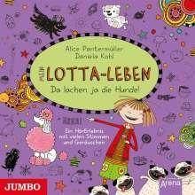 Alice Pantermüller: Mein Lotta-Leben. Da lachen ja die Hunde, CD