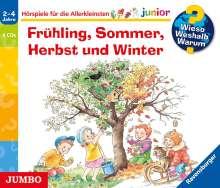 Andrea Erne: Wieso? Weshalb? Warum? junior. Frühling, Sommer, Herbst und Winter, 4 CDs