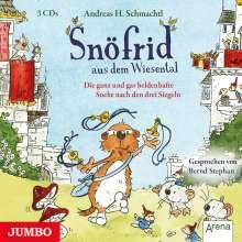 Andreas H. Schmachtl: Snöfrid aus dem Wiesental 04. Die ganz und gar heldenhafte Suche nach den drei Siegeln, 4 CDs