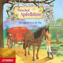 Pippa Young: Ponyhof Apfelblüte 13. Ein eigenes Pony für Mia, CD