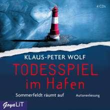 Klaus-Peter Wolf: Todesspiel im Hafen, 4 CDs
