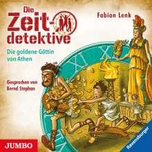 Fabian Lenk: Die Zeitdetektive 40. Die goldene Göttin von Athen, CD