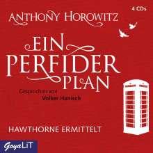 Anthony Horowitz: Ein perfider Plan, 4 CDs