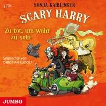 Sonja Kaiblinger: Scary Harry 08. Zu tot, um wahr zu sein, 3 CDs