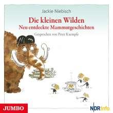 Jackie Niebisch: Die kleinen Wilden. Neu entdeckte Mammutgeschichten, CD