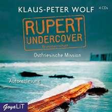 Klaus-Peter Wolf: Rupert undercover. Ostfriesische Mission, 4 CDs