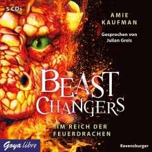 Amie Kaufman: Beast Changers. Im Reich der Feuerdrachen, 5 CDs