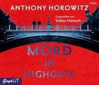 Anthony Horowitz: Mord in Highgate, 4 CDs
