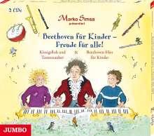 Beethoven für Kinder - Freude für alle! Königsfloh und Tastenzauber und Beethoven-Hits für Kinder, 2 CDs