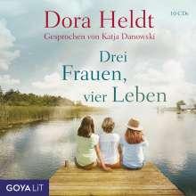 Dora Heldt: Drei Frauen, vier Leben, 7 CDs