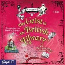 Ben Aaronovitch: Der Geist in der British Library und andere Geschichten aus dem Folly, 4 CDs