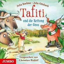 Julia Boehme: Tafiti und die Rettung der Gnus, CD