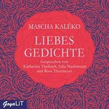 Mascha Kaléko: Liebesgedichte, 2 CDs