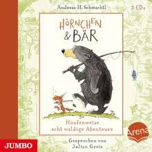Andreas H. Schmachtl: Hörnchen & Bär. Haufenweise echt waldige Abenteuer, 3 CDs