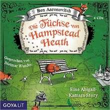 Ben Aaronovitch: Die Füchse von Hampstead Heath, 4 CDs