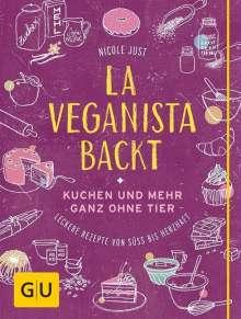Nicole Just: La Veganista backt, Buch