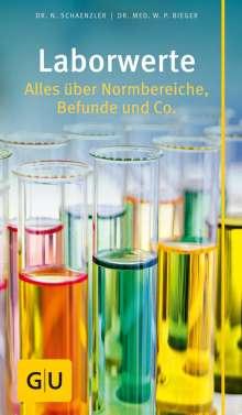 Bieger, Dr. med. , Wilfried P.: Laborwerte, Buch