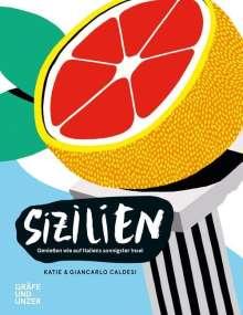 Katie Caldesi: Sizilien, Buch