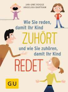 Angelika Bartram: Wie Sie reden, damit Ihr Kind zuhört und wie Sie zuhören, damit Ihr Kind redet, Buch