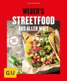 Jamie Purviance: Weber's Streetfood aus aller Welt, Buch
