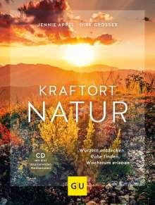 Jennie Appel: Kraftort Natur (mit CD), Buch
