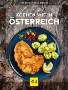 Alexander Höss-Knakal: Kochen wie in Österreich, Buch