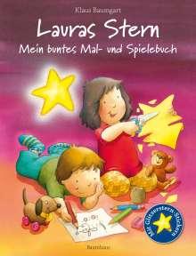 Klaus Baumgart: Lauras Stern - Mein buntes Mal- und Spielebuch, Buch