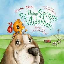 Diana Amft: Die kleine Spinne Widerlich - Ferien auf dem Bauernhof Pappbilderbuch, Buch