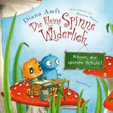 Diana Amft: Die kleine Spinne Widerlich - Komm, wir spielen Schule! (Mini-Ausgabe), Buch