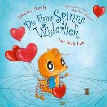 Diana Amft: Die kleine Spinne Widerlich hat dich lieb (Pappbilderbuch), Buch