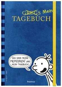 Jeff Kinney: Gregs (Mein) Tagebuch (blau), Buch