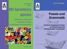 Gerlind Belke: Poesie und Grammatik + Mit Sprache(n) spielen, Buch