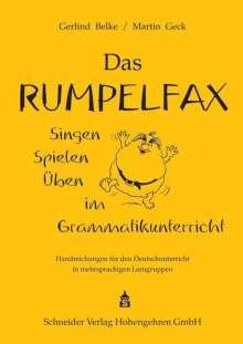 Gerlind Belke: Das Rumpelfax, Buch