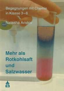 Natasha Aristov: Mehr als Rotkohlsaft und Salzwasser, Buch