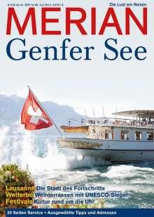 MERIAN Genfer See, Buch