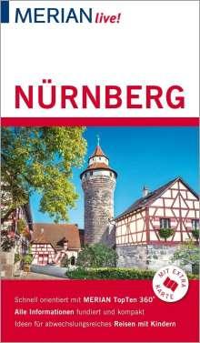 Ralf Nestmeyer: MERIAN live! Reiseführer Nürnberg, Buch