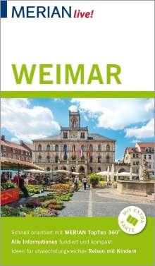 Andrea Lammert: MERIAN live! Reiseführer Weimar, Buch