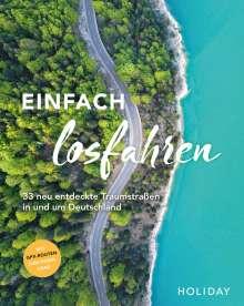 Daniel Berger: HOLIDAY Reisebuch: Einfach losfahren - neue Roadtrips vor der Haustür, Buch
