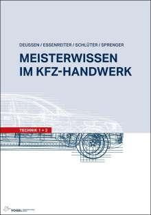 Ralf Deußen: Meisterwissen im Kfz-Handwerk, Buch