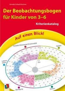 Kornelia Schlaaf-Kirschner: Auf einen Blick! Der Beobachtungsbogen für Kinder von 3-6, Buch