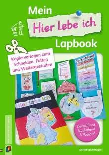 """Doreen Blumhagen: Mein """"Hier lebe ich""""-Lapbook, Buch"""