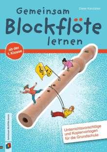 Dieter Kanzleiter: Gemeinsam Blockflöte lernen ab der 1. Klasse, Buch
