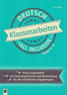 Lars Fedeler: Klassenarbeiten all inclusive - Deutsch Klasse 5-10, Buch