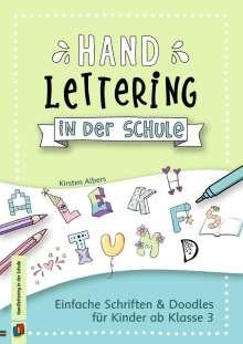 Kirsten Albers: Handlettering in der Schule, Buch