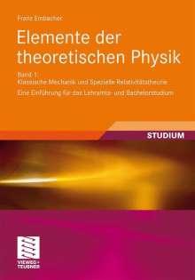 Franz Embacher: Elemente der theoretischen Physik, Buch